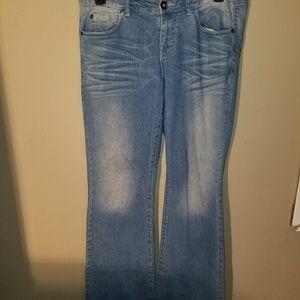 Torrid Light Wash Flare Jeans